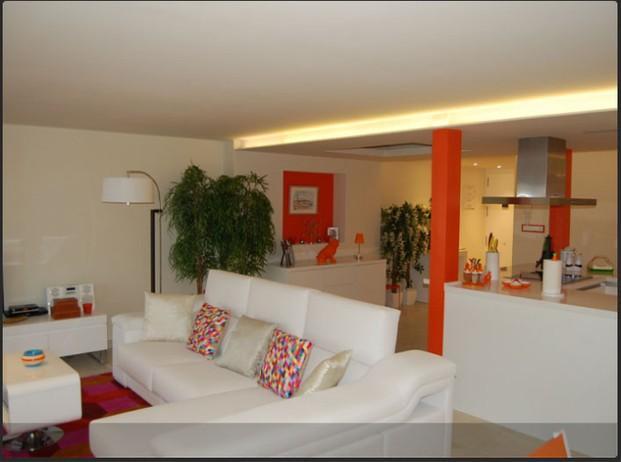 Decoradores Interioristas.Decoración de apartamento de verano