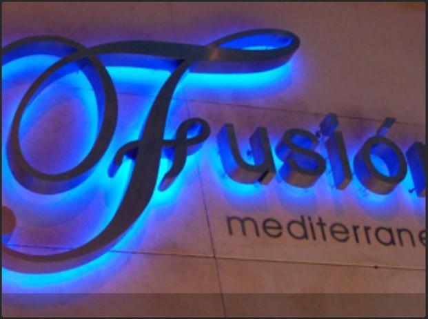 Decoración para hostelería. Decoración del restaurant Fusion