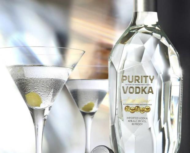 Purity vodka. Suave y sofisticada