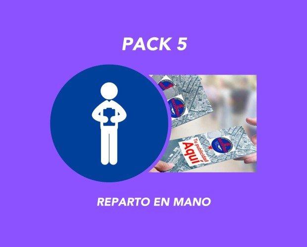 Pack 5. Reparto en mano