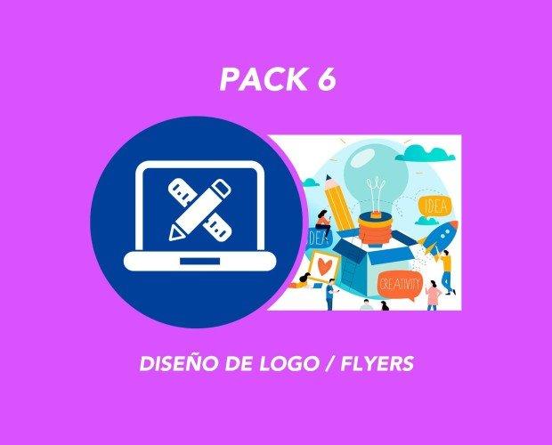 Pack 6. Diseño de Logo / Flyer