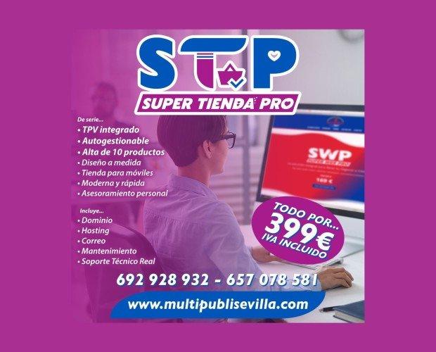Diseño tienda online. Diseño tienda Online. Tienda online lista para vender con TPV integrado. Diseño personalizado + Dominio + hosting + mantenimiento y...