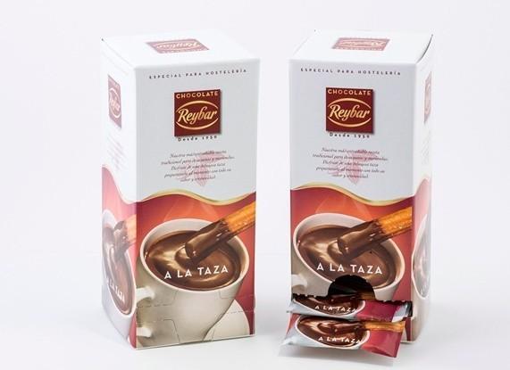 Monodosis de chocolate a la taza