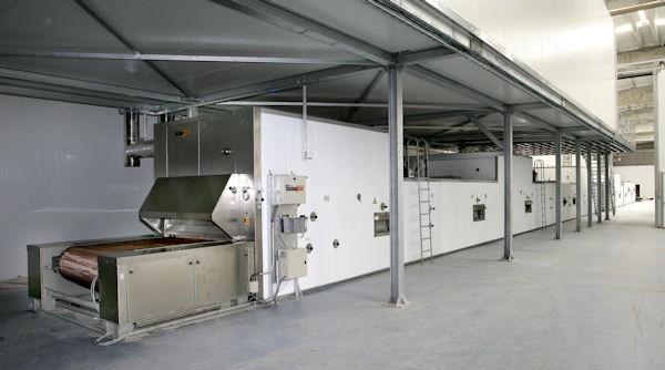 Hornos de Pan.Hornos túnel para grandes producciones