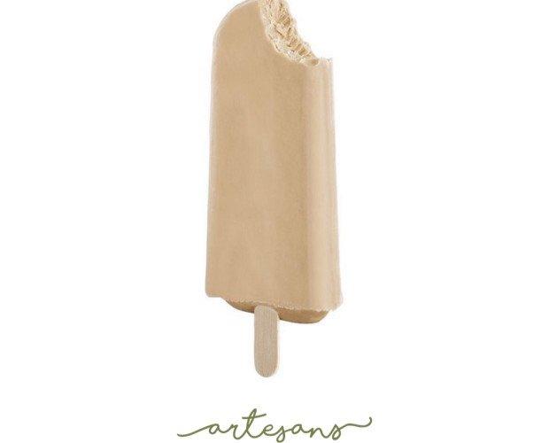 Helado de palo artesanal. Nuestros helados artesanales con palo son modernos pero sin perder la tradición