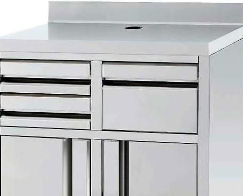 Mueble cafetero. Medidas 1000X600X1050 o 1200X600X1050 .