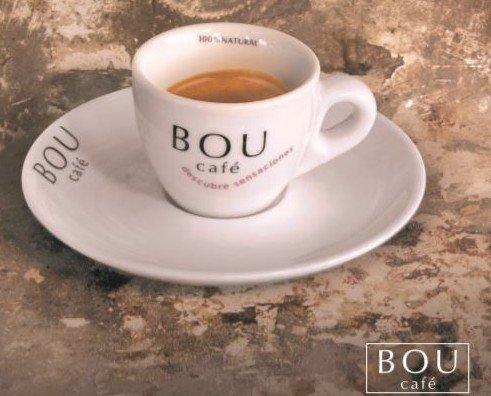 bou taza. delicioso café