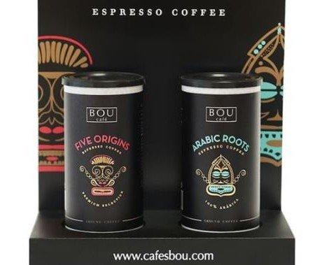 botes molido Bou cafe. café molido