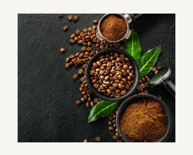 Café en Grano. Mezcla de cafés arábica y robusta de gran calidad