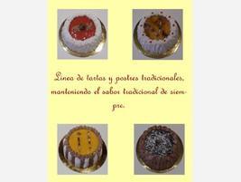 Tortas y postres tradicionales
