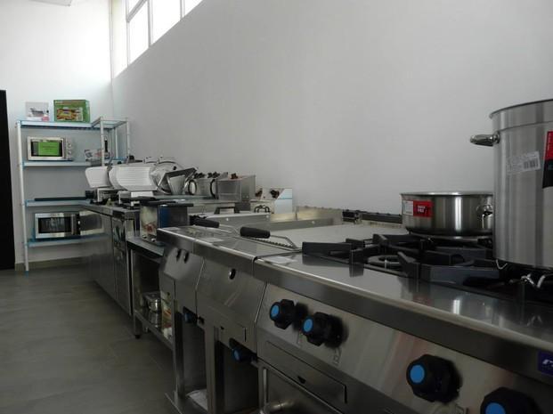 Exposición. Exposición de máquinas de hostelería en Tortosa