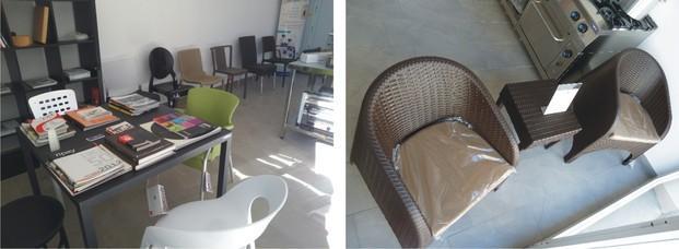Mesas de Trabajo.Exposición de máquinas de hostelería en Tortosa