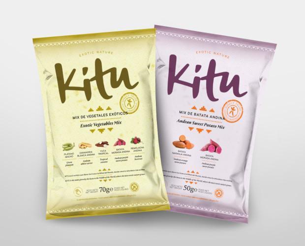 Kitu Snack. Nuestras dos referencias con gran diseño y sabor.