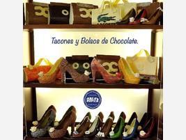 Zapatos de chocolate