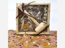 Chocolate marmolado