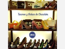 Tacones de chocolate