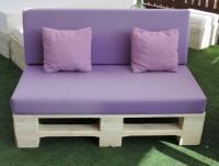 Sofá lila