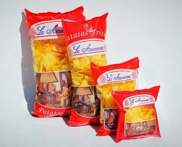 Patatas Fritas.Patatas fritas artesanas 500g 250g 145g 60g