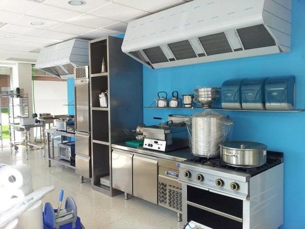 Maquinaria para hostelería. Cafeteras, cocinas, hornos