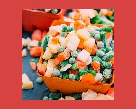 Verdura Congelada. Pensada para ayudar en tu cocina