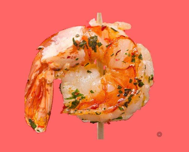 Mariscos. Ofrecemos platos de aspecto inmejorables