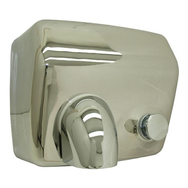 Secadores de Manos.Secador de manos de accionamiento manual de acero inox
