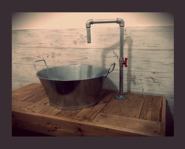 Lavabo Country. Fabricacion a Medida de Mobiliario de Baño