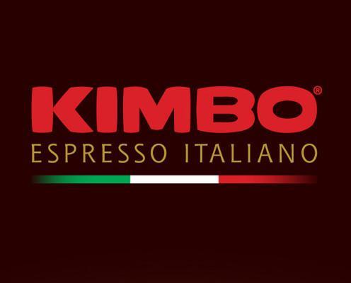 Logo Kimbo. Café Kimbo. Proveedor de café italiano.