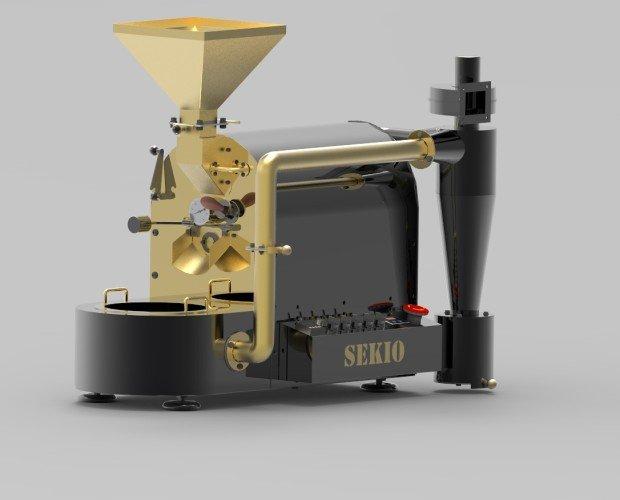 Tostador Golden Black. Tostador para café, frutos secos, cereales o cualquier otro producto de tueste natural