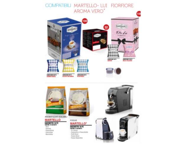 Café Bárbaro compatible con Martello. Café con la mejor relación calidad/precio