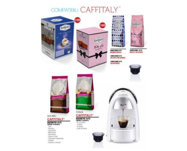 Café Bárbaro compatible con Caffitaly. Le ofrecemos nuestros dispensadores personalizados con su marca.