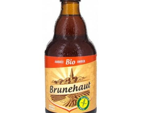Cerveza sin Gluten.Es una cerveza belga color ambarino y sin gluten