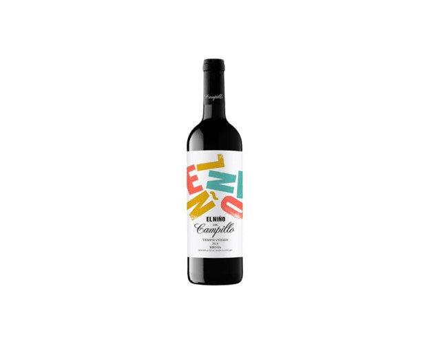 Vino el Niño de Campillo. Bodegas Campillo es el productor vino tinto con DO Rioja a base de graciano y tempranillo de 2018