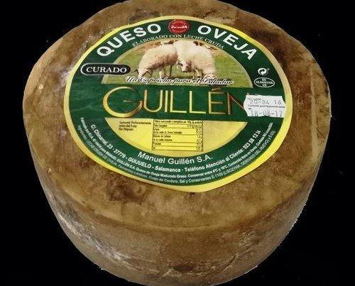 Queso Oveja Curado Guillén. Peso aproximado de 3kg
