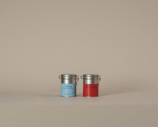 Té azul y té rojo. La magia del té