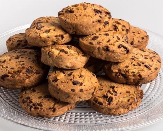 Bollería sin Gluten.Cookies con chocolate sin gluten y sin lactosa