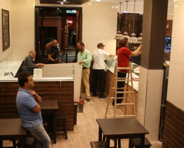 Montaje e interiorismo. Interiorismo y montaje restaurante Madird