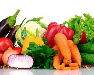 Variedad de vegetales. Contamos con una amplia diversidad de vegetales