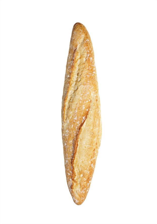 Pan de barra. Barra gallega de 200 y 250 gr.