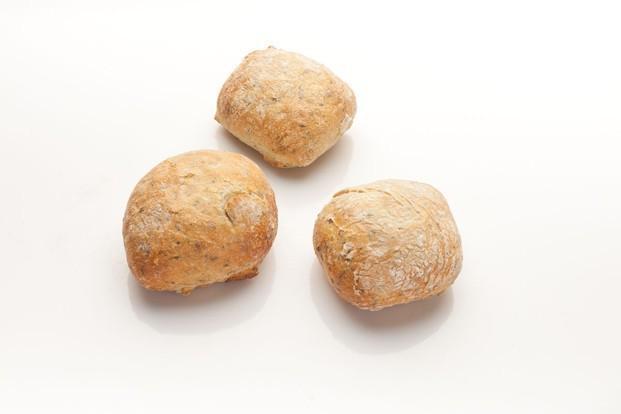 Panecillos. Variedad de panecillos con sabores y semillas