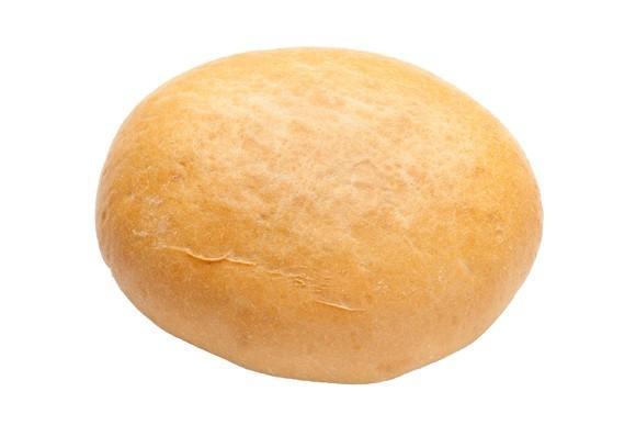 Pan de hamburguesa. Miga blanca y alveolada de corteza suave