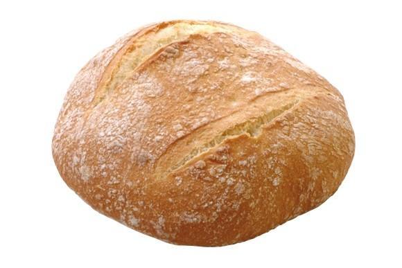 Redondo. Un pan con mucha miga y masa muy hidratada, de 400 gramos