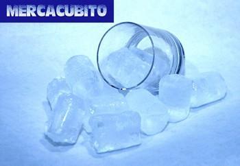 Hielo en cubos. Cubitos de 40, 50, 60 y 70 gramos