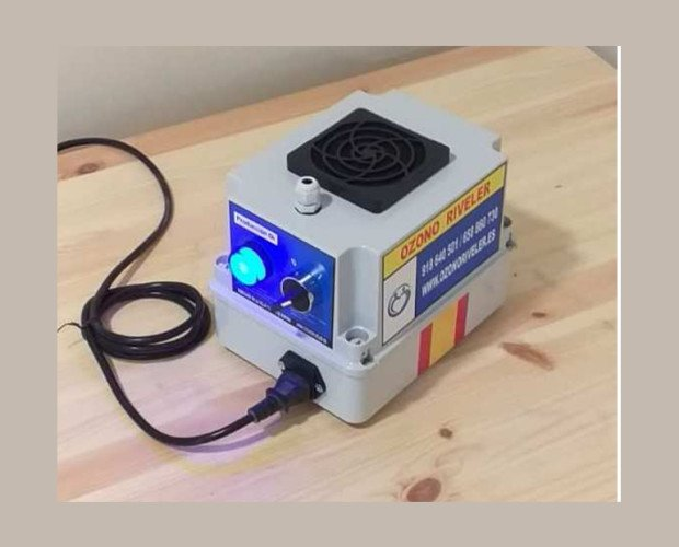 Modelo EXP 02. Producción de O3, 200 mg Corona