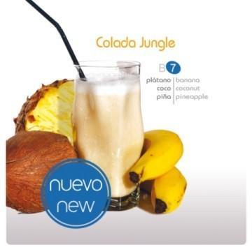 Smoothie 100% fruta Calada Jungle. De plátano, coco y piña
