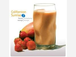 Smoothie 100% fruta Californian Sunrise