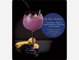 Smoothies con alcohol Black Punch