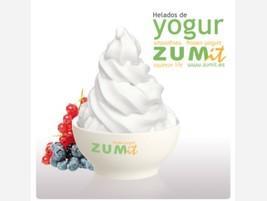 Helado de yogur soff