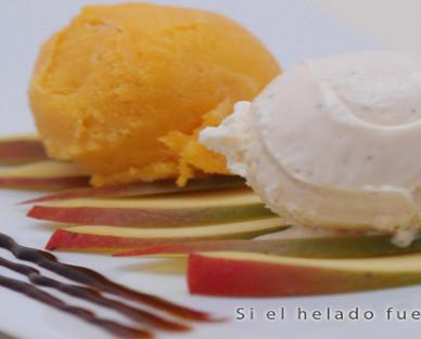 Helado Artesanal.Il vero gelato italiano