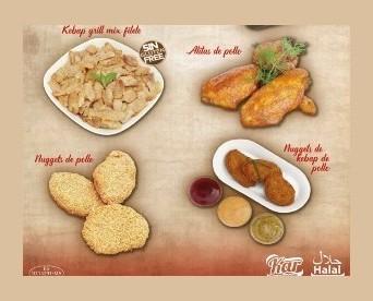 Pollo Congelado.Variedad de preparaciones con pollo
